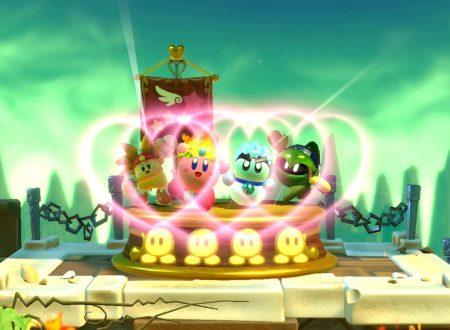 Kirby Star Allies: il titolo girerà ufficialmente a 30fps, tranne che per i menù