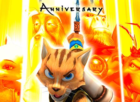 Legend of Kay Anniversary: il titolo è in arrivo ufficialmente su Nintendo Switch