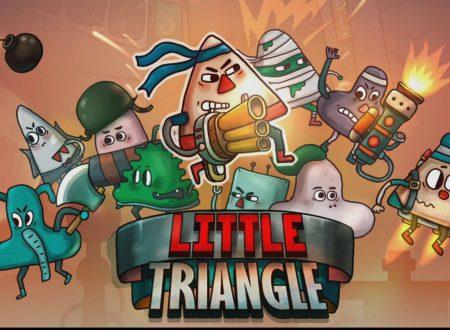 Little Triangle: il titolo è in arrivo il 1 marzo sui Nintendo Switch giapponesi