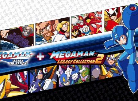 Mega Man Legacy Collection 1 + 2, la collection è in arrivo il 22 maggio su Nintendo Switch