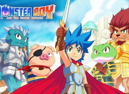 Monster Boy and the Cursed Kingdom, pubblicato due video gameplay dl TGS 2018