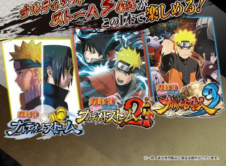 Naruto Shippuden: Ultimate Ninja Storm Trilogy il titolo è in arrivo il 26 aprile sui Nintendo Switch giapponesi