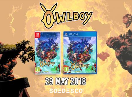 Owlboy: il titolo verrà pubblicato il 29 maggio anche in formato retail su Nintendo Switch