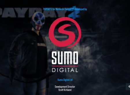 PAY DAY 2: Sumo Digital è dietro al porting su Nintendo Switch, video comparativo con Xbox 360 e PS4
