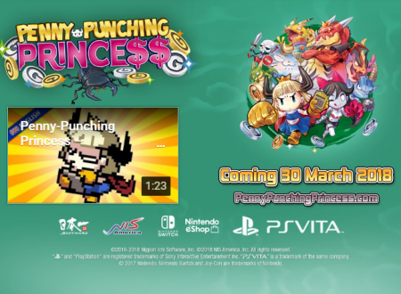 Penny-Punching Princess: il titolo è in arrivo il 30 marzo sui Nintendo Switch europei