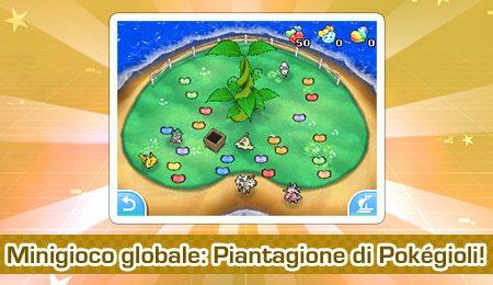 """Pokémon Ultrasole e Ultraluna: ora disponibile il minigioco globale """"Piantagione di Pokégioli!"""