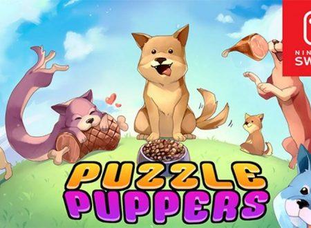 Puzzle Puppers: uno sguardo in video al titolo dai Nintendo Switch europei