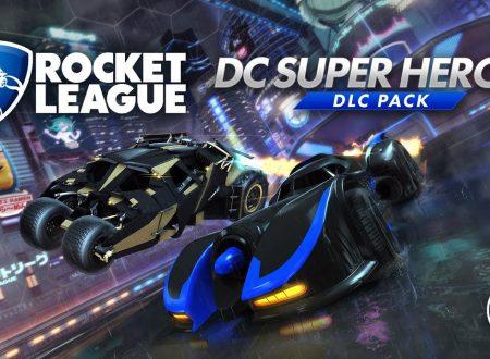 Rocket League: svelato il DC Super Heroes DLC Pack, in arrivo il 5 marzo su Nintendo Switch