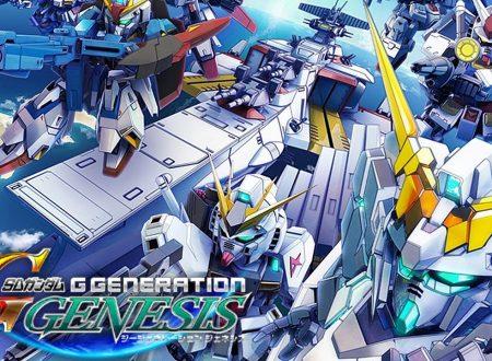 SD Gundam G Generation Genesis: pubblicato il trailer esteso del titolo in arrivo su Nintendo Switch