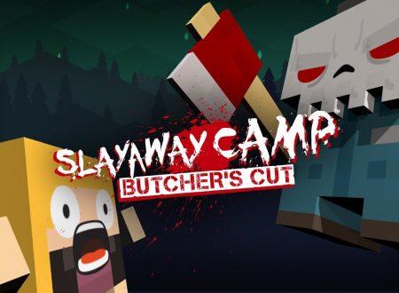 Slayaway Camp: Butcher's Cut, il titolo è in arrivo a marzo sull'eShop di Nintendo Switch