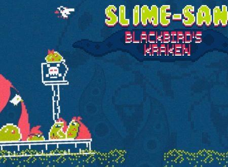 Slime-San: il titolo aggiornato alla versione 1.1 sui Nintendo Switch europei, aggiunto il DLC Blackbird's Kraken