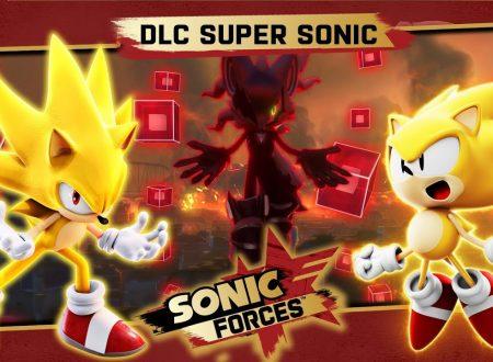 Sonic Forces: SEGA rivela i motivi per cui il DLC di Super Sonic fu reso gratuito