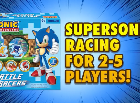 Sonic the Hedgehog: Battle Racers, svelata la campagna Kickstarter per il board game su Sonic the Hedgehog