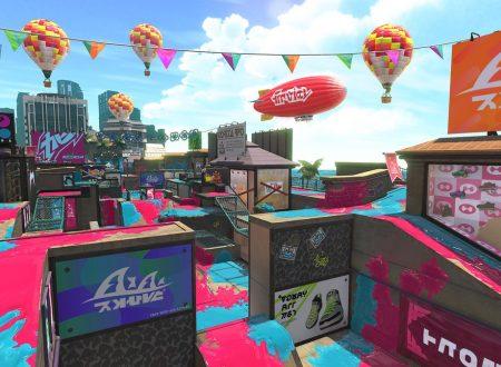 Splatoon 2: lo stage del Centro Commerciale, sarà disponibile da domani nel titolo