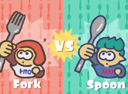 Splatoon 2: svelato il nuovo Splatfest americano, meglio la forchetta o il cucchiaio?