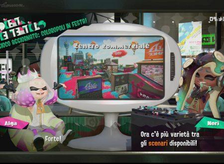 Splatoon 2: uno sguardo in video allo scenario Centro Commerciale, ora disponibile nel titolo