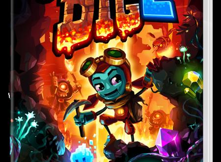 Steamworld Dig 2: il titolo è in arrivo la prossima primavera in formato retail su Nintendo Switch