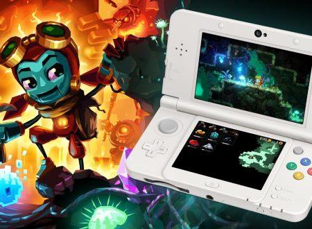 Steamworld Dig 2: pubblicato il trailer di lancio della versione 3DS, ora disponibile