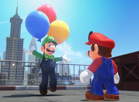 Super Mario Odyssey: Caccia al Palloncino di Luigi e il nuovo update in arrivo il 23 febbraio