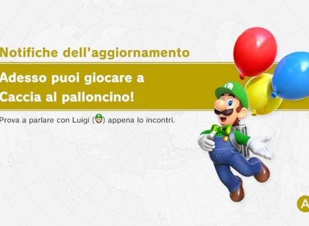 Super Mario Odyssey: ora disponibile la versione 1.2.0 sui Nintendo Switch europei