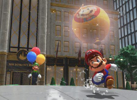 Super Mario Odyssey: un glitch permette di nascondere i palloncini in posti irraggiungibili