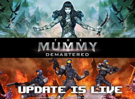 The Mummy Demastered: disponibile un nuovo aggiornamento del titolo su Nintendo Switch