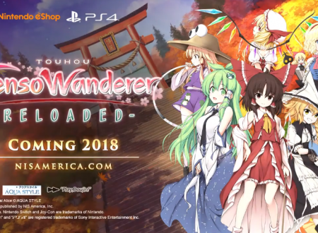 Touhou: Gensou Wanderer Reloaded, il titolo è in arrivo in estate su Nintendo Switch