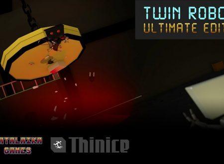 Twin Robots: Ultimate Edition, il titolo è in arrivo il 23 febbraio sull'eShop di Nintendo Switch