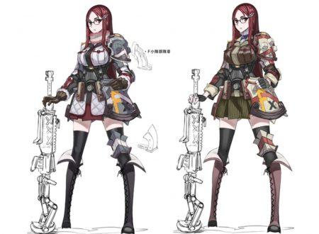 Valkyria Chronicles 4: mostrati nuovi artwork e video su Viola, Connor e Minerva Viktor
