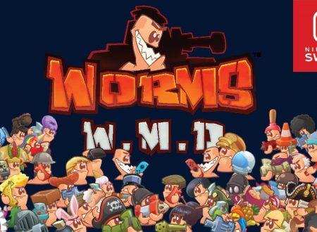 WORMS W.M.D: pubblicato un nuovo aggiornamento del titolo su Nintendo Switch