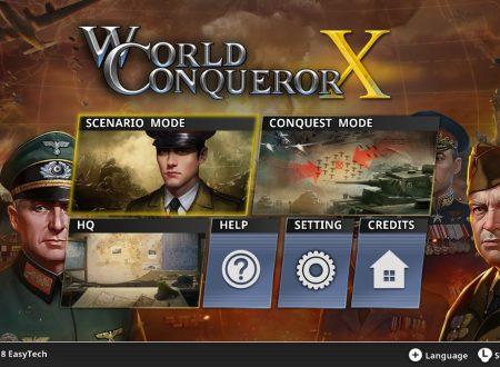 World Conqueror X: il titolo è in arrivo il 8 marzo sull'eShop di Nintendo Switch