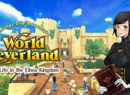 WorldNeverland: Elnea Kingdom, il titolo aggiornato alla versione 1.0.2 sui Nintendo Switch europei
