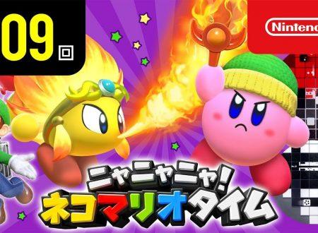 Nyannyan Neko Mario Time: pubblicato l'episodio 109 dello show felino con Mario e Peach