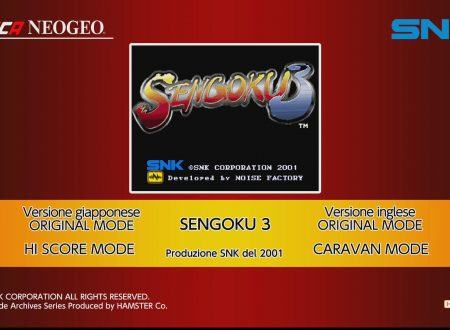 ACA NEOGEO SENGOKU 3, uno sguardo in video al titolo dai Nintendo Switch europei