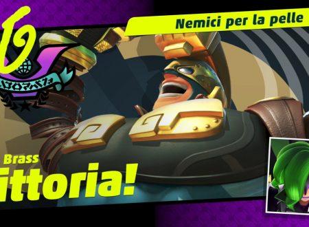ARMS: Max Brass è il vincitore del settimo Party Crash: Nemici per la pelle