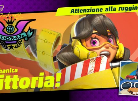 ARMS: Mechanica è la vincitrice del sesto Party Crash: Attenzione alla ruggine
