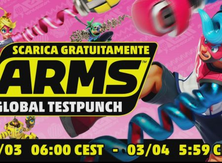 ARMS: disponibile nuovamente la demo del Global Testpunch sull'eShop europeo di Nintendo Switch