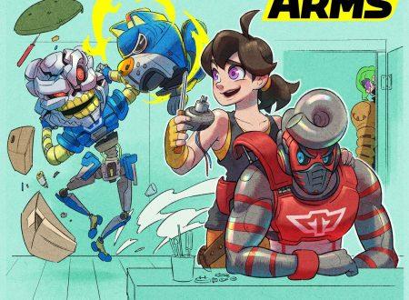 ARMS: il titolo è stato aggiornato alla versione 5.2 sui Nintendo Switch europei