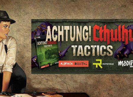 Achtung! Cthulhu Tactics – The Forest of Fear, il titolo è in arrivo nel 2018 sull'eShop di Nintendo Switch