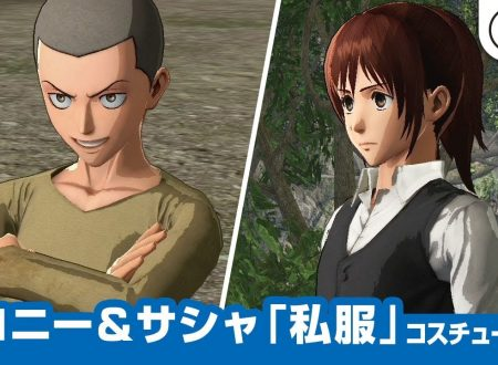 Attack on Titan 2: Future Coordinates: pubblicato un video che mostra i vestiti da civili di Sasha e Conny