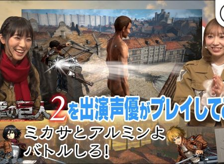 Attack on Titan 2: Future Coordinates, terzo video gameplay con le doppiatrici di Mikasa e Armin