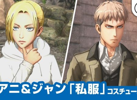 Attack on Titan 2: Future Coordinates, un nuovo video mostra i vestiti da civili di Annie e Jean