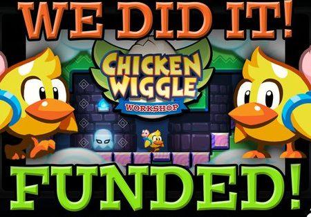 Chicken Wiggle: la campagna Kickstarter è un successo, ufficialmente in arrivo su Nintendo Switch