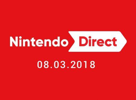 Nintendo Direct: link ed embed video della presentazione in arrivo alle 23:00