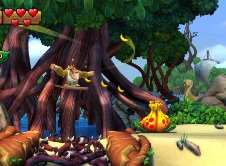 Donkey Kong Country: Tropical Freeze, pubblicati 5 minuti di video gameplay con Funky Kong