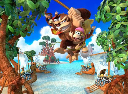 Donkey Kong Country: Tropical Freeze, pubblicati 8 minuti di video gameplay sul titolo per Nintendo Switch