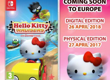 Hello Kitty Kruisers: il titolo è in arrivo il 26 aprile sull'eShop di Nintendo Switch