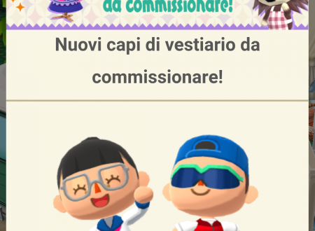 Animal Crossing: Pocket Camp, disponibili dei nuovi capi di vestiario da commissionare