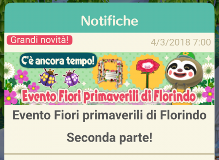 Animal Crossing: Pocket Camp, disponibile la seconda parte dell'evento Fiori primaverili di Florindo