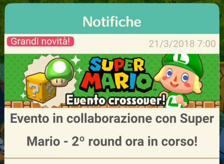 Animal Crossing: Pocket Camp: disponibile il secondo round dell'evento crossover con Super Mario